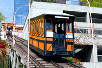 Funicular Railroad in Los Angeles