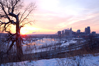 Saint Paul Scenic at Dusk