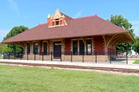 Railroad Depot in Whitewater