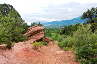 Along the Trail at Garden of the Gods