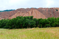 Meadow Trees and Sandstone at Roxborough