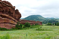 Red Rocks Park and Mountain Range