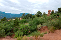 Garden of the Gods Mountains and Hills