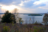 Schaars Bluff Overlooking Mississippi River