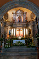 Altar and sanctuary of San Francisco de Asis Church in Chapala Mexico