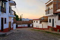 Streets of Tapalpa at Daybreak