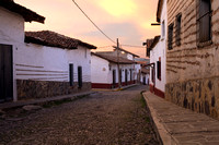 Streets of Tapalpa at Sunrise