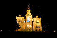 Blue Earth County Courthouse at Night